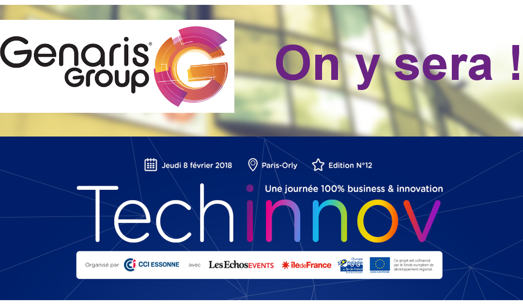 GREAT sera présent sur le stand du cluster Genaris Group, partenaire du salon Techinnov, le marathon business de l'innovation